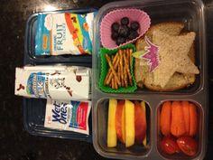 Lunchbox Ideas #1 - wet wipe is brilliant