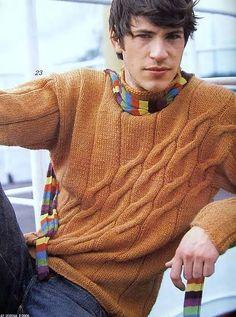 мужской свитер. | вязание мужчинам | Постила