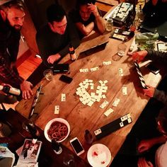 TBT a passionate game of Rummikub ensues on a team retreat. Looking forward to more of these in . Poker Table, Teamwork, Onesie, Unicorn, Table Settings, Coding, Game, Instagram Posts, Design