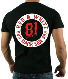 1208 Support 81 Scuro Side Hells Angels T-Shirt