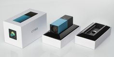 Uneka wanted to design a package for the Lytro camera that put it up on the pedestal that it deserved. The out-of-box experience presents the camera as the hero and provides a nice reveal and easy access to the product. The ID of the packaging follows the clean look and feel of the camera. Premium design and premium materials for a premium produc