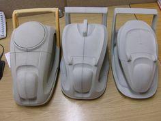 Flymo Easi Glide by ed martin, via Behance. Id Design, Design Model, Modern Design, Graphic Design, Design Thinking Process, Design Process, Basic Sketching, Mockup, Industrial Design Sketch