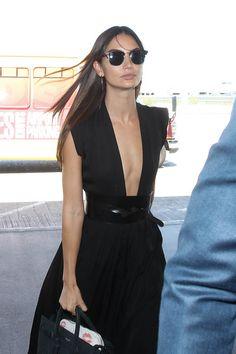Lily+Aldridge+Oversized+Belt+-+Lily+Aldridge+Looks+-+StyleBistro