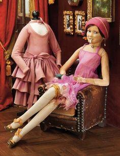 In the Company of the Gentleman Bespoken: 70 Italian Felt Salon Lady by Lenci