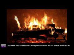 Free Fireplace Screensaver for TV | ... TV Screensaver Now! 60 minute Fireplace screensaver Filmed in 1080 HD