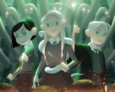 """""""Or perhaps in Slytherin you'll make your friends, those cunning folk use any means to achieve their ends..."""""""