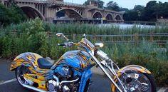 honda vtx1300r chopper | lone wolf custom cycles | bikerMetric