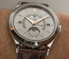 Patek Philippe Perpetual Calendar 5496P-015 Platinum Watch Hands-On Hands-On