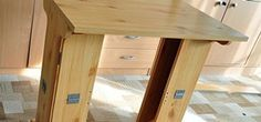 DIY Foldable Table « Construction & Repair