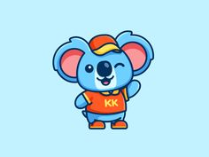Koala - Additional Pose designed by Alfrey Davilla Outline Illustration, Simple Illustration, Funny Cartoon Characters, Cartoon Kids, Elephant Icon, Animal Outline, Lion Poster, Book Logo, Cute Coloring Pages