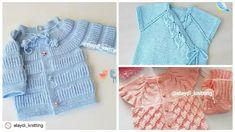 Ideas para ropa de bebé en dos agujas Unisex, Ideas Para, Ruffle Blouse, Knitting, Tops, Women, Fashion, Tapestry Weaving, Free Knitting