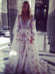 Absolutely Princessy, Chanel Couture Gown FTW! - Poppy Delevingne Got Married (Again) This Weekend #Refinery29