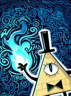 Bill Cyper of Gravity Falls, also known as the evilest demon and the craziest too.