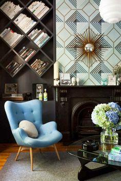 diseño de interiores guatemala, librera, wallpaper, reasons why hire an interior designer
