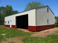 30x50x13 - Post Frame Building/Garage www.nationalbarn.com