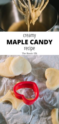 Creamy Maple Candy This easy maple candy recipe is a great way to use up pure maple syrup and a few other simple ingredients to make homemade, soft candies that everyone will love in less than 30 minutes. Homemade Maple Syrup, Maple Syrup Recipes, Sugar Free Maple Syrup, Organic Maple Syrup, Healthy Candy, Healthy Peanut Butter, Vegan Banana Bread, Banana Bread Recipes, Maple Candy Recipe