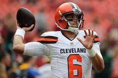 Photos: Browns vs Redskins - 1st Half - QB Cody Kessler warms up before playing the Redskins in Week 4.
