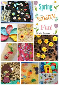 Top 10 Best Spring Sensory Fun Activities for Kids|The Holy Mess