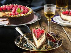Tarta de mascarpone, chocolate y frambuesas.. - La Cocina de Frabisa La Cocina de Frabisa