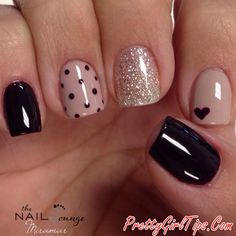 @prettygirltips 15 Nail Design Ideas That Are Actually Easy