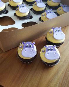 Hippo cupcakes.