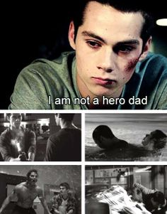 Stiles a hero. Always has been and always will be. THAT EPISODE MADE ME CRY!