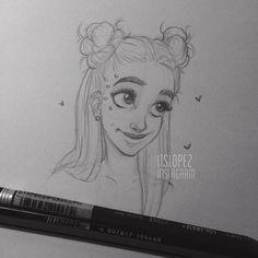 """Laia López op Instagram: """"Space buns"""""""