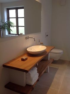 Modern Scandinavian bathroom.