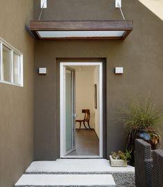Haustürüberdachung hausvordächer Vordächer Glas monochromatisch
