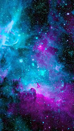 Purple galaxy. my favorite color
