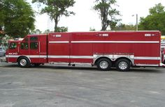 Kansas City FD (MO) 2006 E-ONE Cyclone 26' Non Walk-in Rescue Fire Dept, Fire Department, Tow Truck, Big Trucks, Ambulance, Bug Out Vehicle, Fire Equipment, Custom Big Rigs, Rescue Vehicles