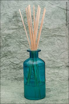 DIY oil reed diffuser homemade air freshener