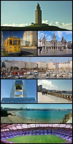 La Coruña, Galicia, España.