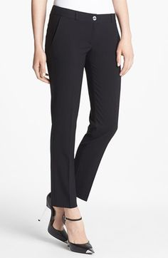 MICHAEL Michael Kors Stretch Ankle Pants (Regular & Petite) available at #Nordstrom