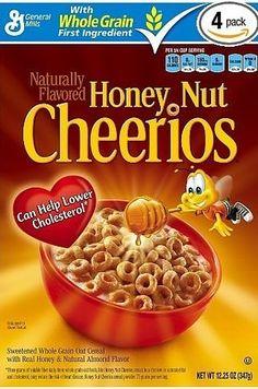 Honey Nut Cheerios   27 Breakfast Cereals Ranked From Worst To Best