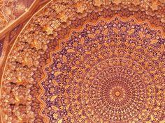 Samarkand pattern ceiling