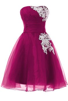 Sunvary Organza and Lace Sweety 16 Pageant Cocktail Foraml Dresses Short Homecoming Cocktail Dresses Bridesmaid Dress Prom Gowns for Evening US Size 2- Royal Blue