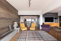 Reforma dá vida nova ao apartamento cinquentão (Foto: Marcelo Donadussi/Divulgação)