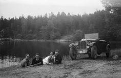 Vapaa-aikaa Ruissalossa 1929. Kuvaaja: H. Attila Turun museokeskuksen valokuva-arkisto VA9810:4267