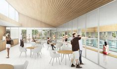Gallery - CREO ARKITEKTER and JAJA architects to Restore and Expand Roskilde Swimming Hall Outside Copenhagen - 8