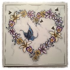 Floral Heart by Andrea@SheepSki Designs - SheepSki Designs: Many occasions