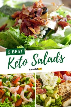 Looking for some low-carb, healthy yet delicious keto salad recipes you can eat at any time?