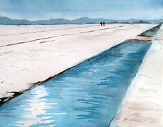 "Check out new work on my @Behance portfolio: ""Watercolor - Salar, Jujuy"" http://be.net/gallery/40286779/Watercolor-Salar-Jujuy"