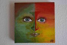 Face Acryl 20x20