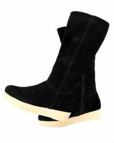 Studio Pollini Faux Fur Lined Boots