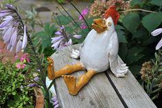 Getöpfertes Huhn