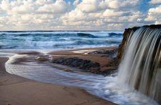 Ocean Waterfall, Azenhas do Mar, Portugal
