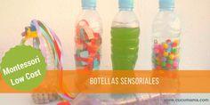 botellas sensoriales Sensory Toys, Baby Play, Water Bottle, Baby Shower, Drinks, Diy, Ideas Creativas, Victoria, Yoga