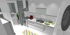 Cozinha e área de serviço ao fundo...(2)