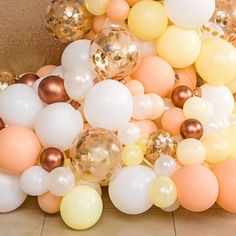 "726 Likes, 5 Comments - Louisa @The Little Big Company (@littlebigcompany) on Instagram: ""Beautiful balloons at bridal shower beautifully styled by @pumpkincarriage.events balloons by…"""